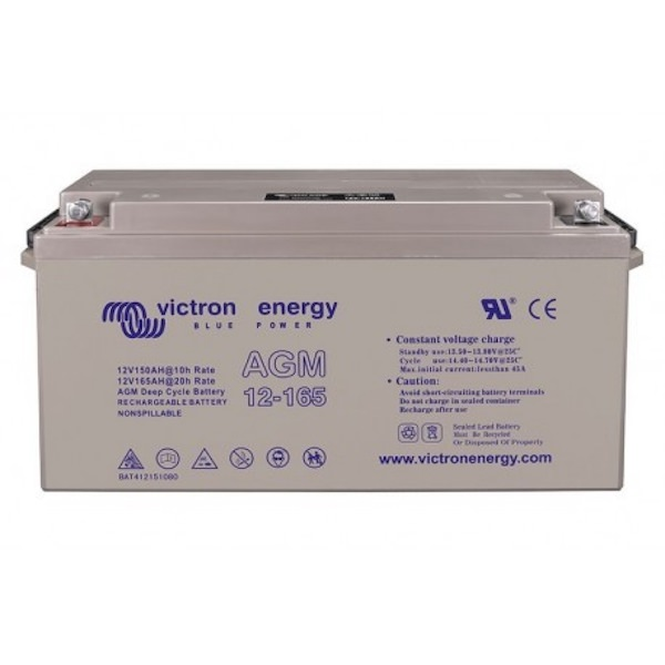 AGM Deep Cycle Batterie12 V: 165 Ah