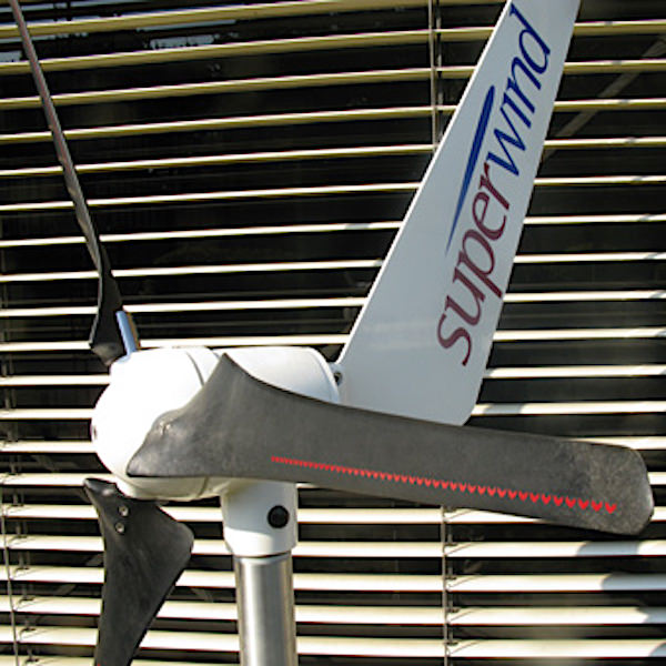 Windgenerator superwind sw 350 Silent Power 12V